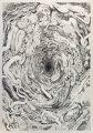 A Life XIV, 2016 | 76cm x 106cm | Crayon on paper