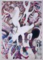 Insight, 2017 | Crayon on Paper | 76cm x 106cm