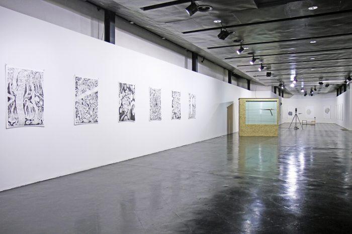 Exhibition View | ohne start kein ziel >>reisezeichnen