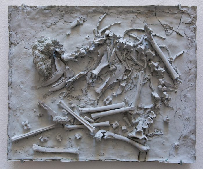 Reverse Archaeology, 2019   Concrete   50cm x 60cm x 15cm