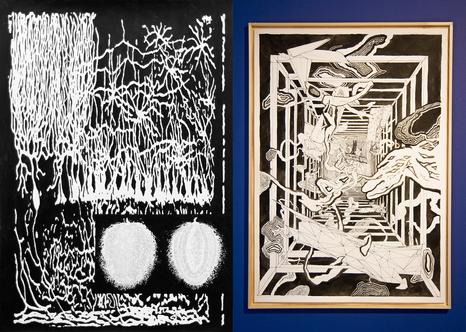 Left - Pattern Recognition X, 2019 | Right - Pattern Recognition V, 2019