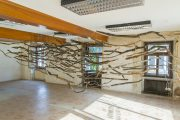 The Sublime II, 2014 | 500cm (X) x 200cm (Y) x 100cm (Z) | Dead wood, strings