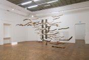 The Sublime VI, 2015 | 500cm (X) x 500cm (H) x 300cm (Z) | Dead wood, strings