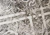 Agreement, 2012   106cm x 76cm   Crayon on Paper