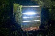 Secrets, 2012 (Installation) | Object: 50cm (X) x 60cm (Y) x 50cm (Z) | Video, TV-Set, Wood
